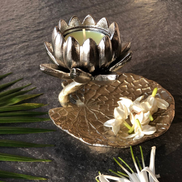 LOTUS TEA LIGHT - Mason Home by Amarsons - Lifestyle & Decor