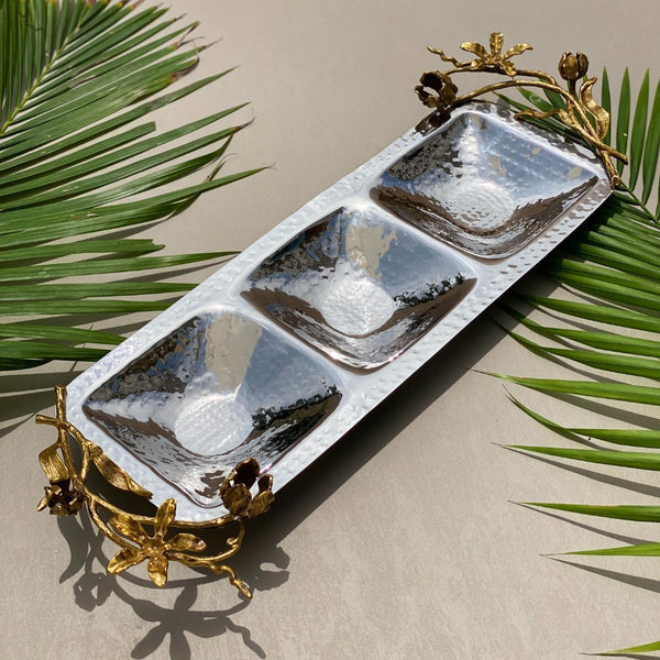 VICTORIAN DECO TRIO NUT SERVE PLATE - Mason Home by Amarsons - Lifestyle & Decor
