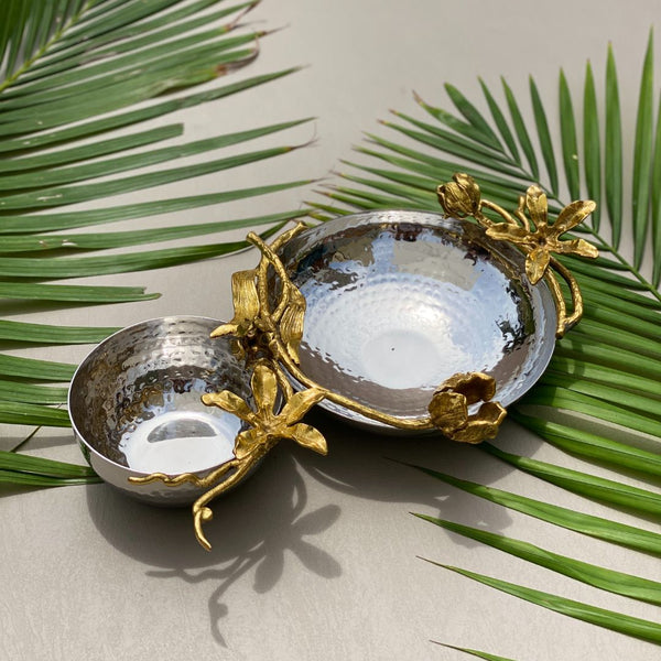 VICTORIAN DECO DUAL NUT BOWL - SMALL