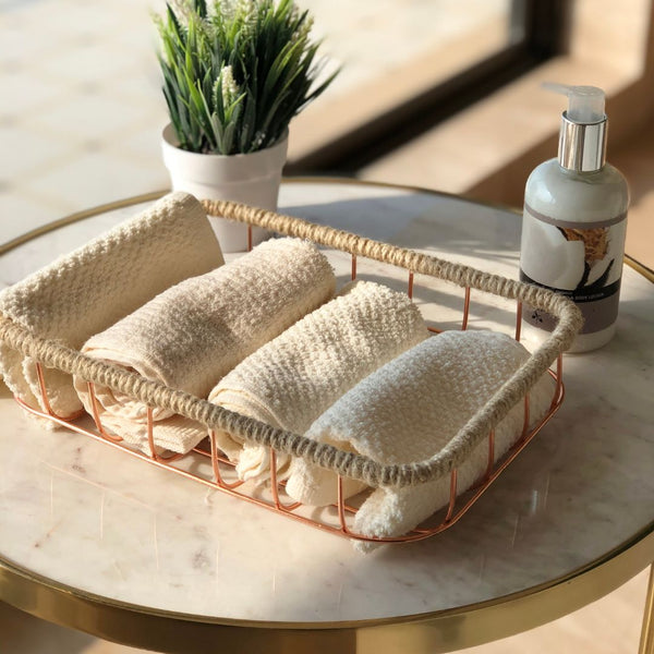 SOCHI BASKET ROSE GOLD - SMALL - Mason Home by Amarsons - Lifestyle & Decor