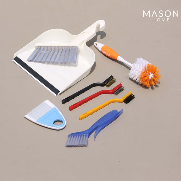 MULTIPURPOSE CLEANING SET - SET OF 7