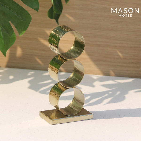 SAFI RING NAPKIN HOLDER - GOLD