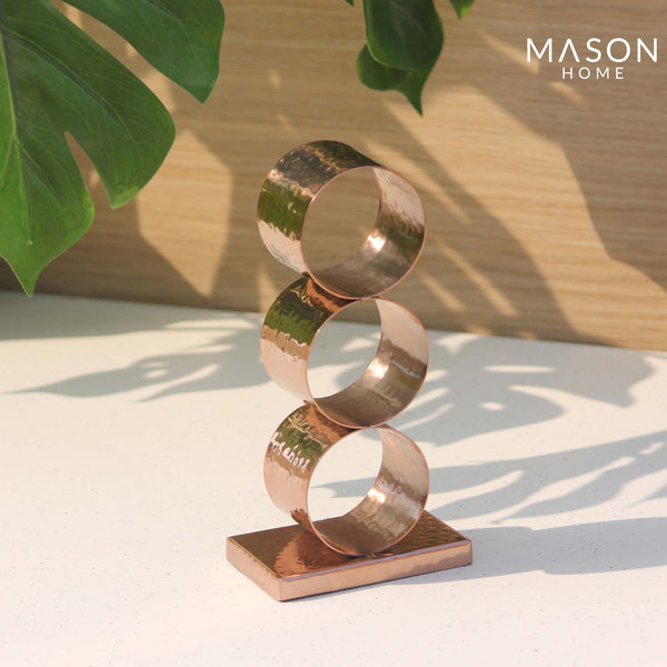 SAFI RING NAPKIN HOLDER - ROSE GOLD