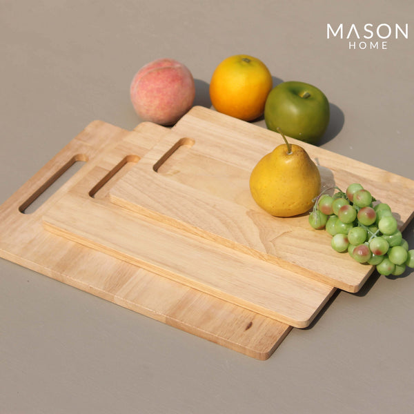 WOODEN CHOPPING BOARD - SET OF 3