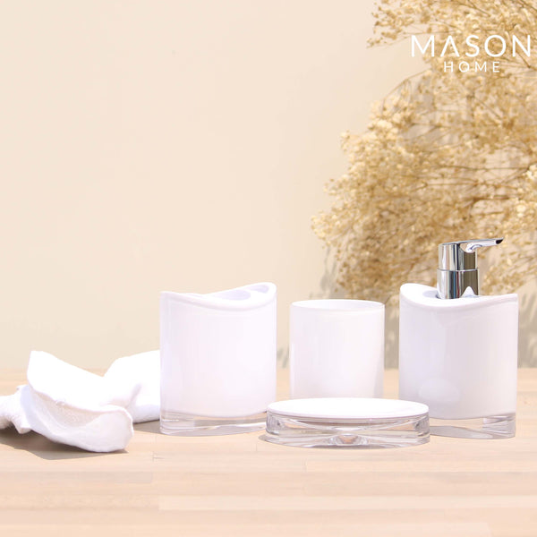 WESPORT BATH SET WHITE - Mason Home by Amarsons - Lifestyle & Decor