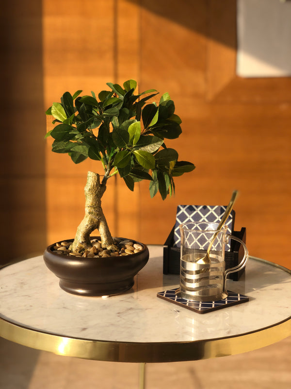 FORMAL UPRIGHT FAUX BONSAI - Mason Home by Amarsons - Lifestyle & Decor