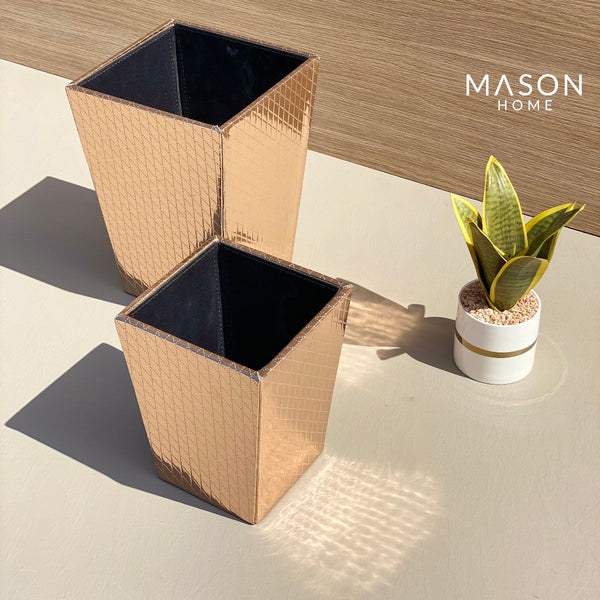 DUSTBIN ROSEGOLD - Mason Home by Amarsons - Lifestyle & Decor