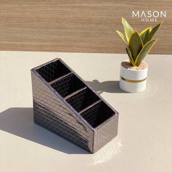 REMOTE HOLDER - GUN METAL - Mason Home by Amarsons - Lifestyle & Decor