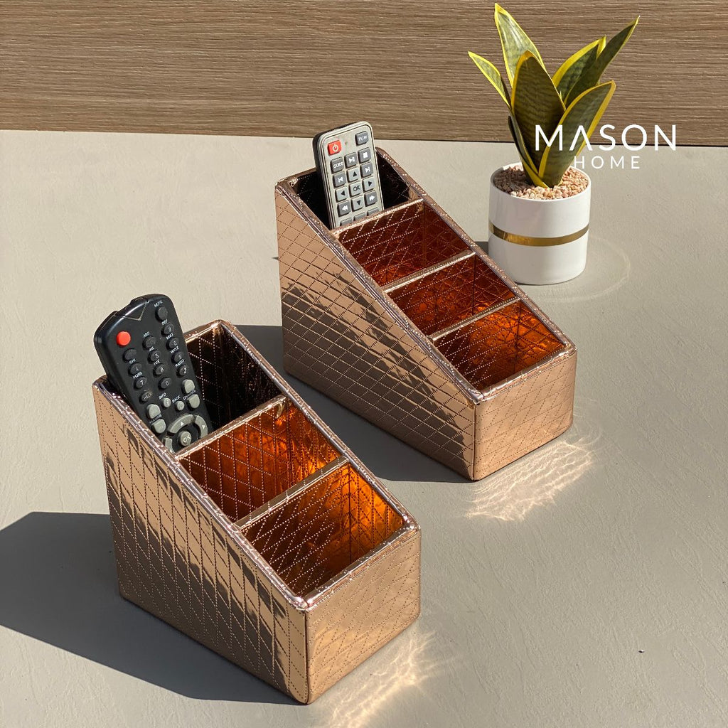 REMOTE HOLDER - ROSEGOLD - Mason Home by Amarsons - Lifestyle & Decor