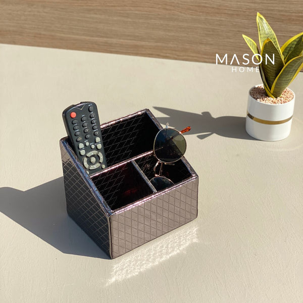 MULTI PURPOSE HOLDER - GUN METAL - Mason Home by Amarsons - Lifestyle & Decor