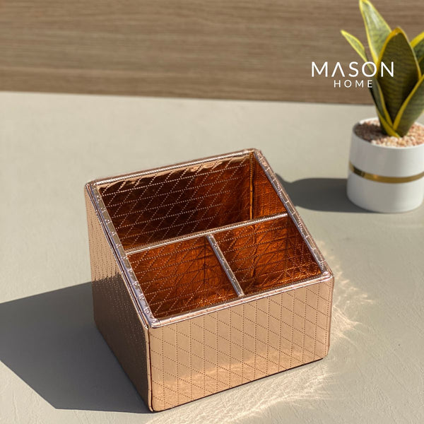 MULTI PURPOSE HOLDER - ROSEGOLD - Mason Home by Amarsons - Lifestyle & Decor