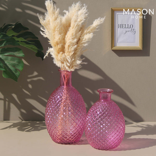 PINEAPPLE VASE PINK - MEDIUM