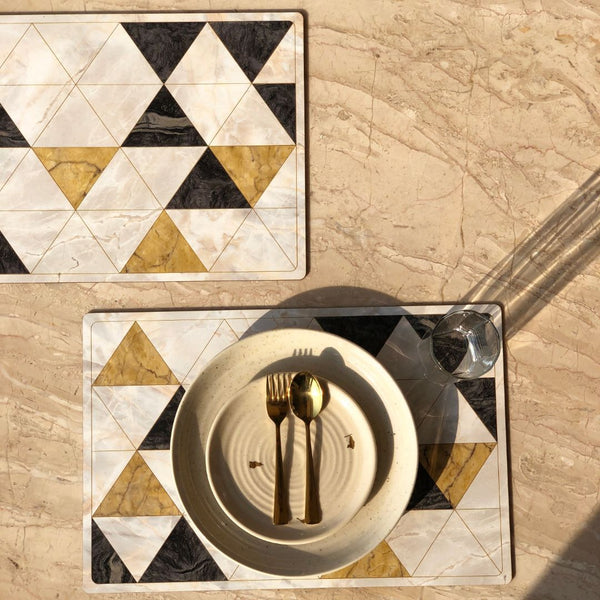 WOODEN PLACEMATS - SET OF 2 - Mason Home by Amarsons - Lifestyle & Decor
