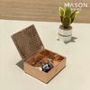 MULTIPURPOSE ACCESSORIES BOX - ROSE GOLD - Mason Home by Amarsons - Lifestyle & Decor
