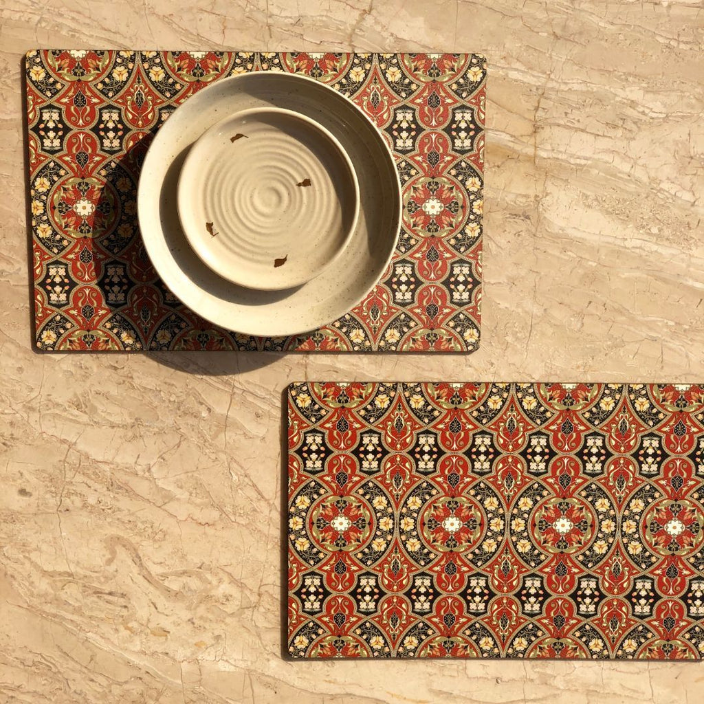 WOODEN PLACEMATS - SET OF 2