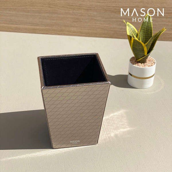 DUSTBIN - GUN METAL - Mason Home by Amarsons - Lifestyle & Decor