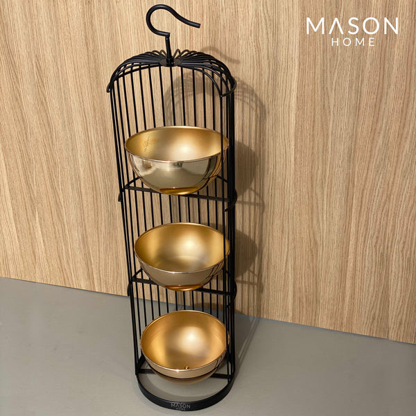 GRID FRAME PLANTER - 3 TIRE - Mason Home by Amarsons - Lifestyle & Decor
