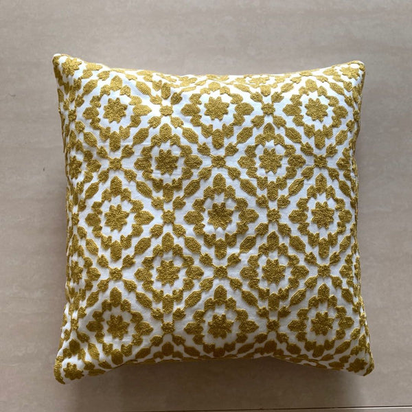 SUNNY OCHRE BLOOM CUSHION - Mason Home by Amarsons - Lifestyle & Decor