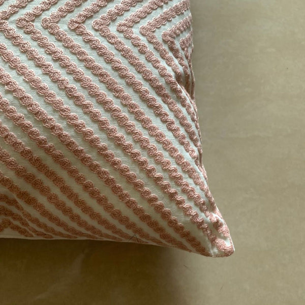 CORAL CONCENTRIC CUSHION
