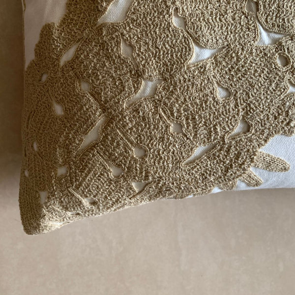 SEA HORSE MOTIF CUSHION - Mason Home by Amarsons - Lifestyle & Decor
