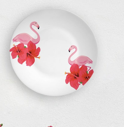 FLAMINGO WALL PLATE