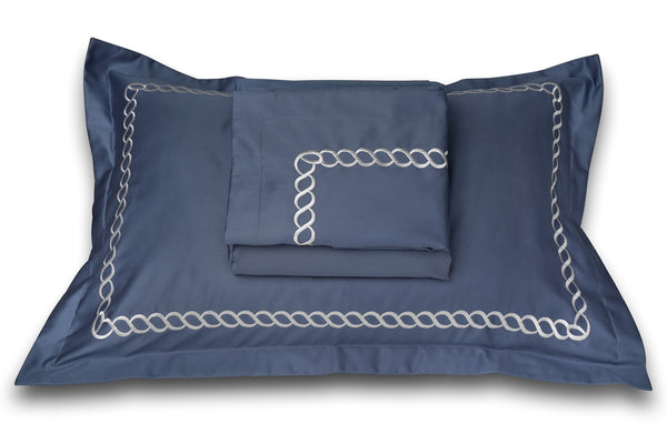 PETALS  BEDDING SET - MOONLIGHT BLUE