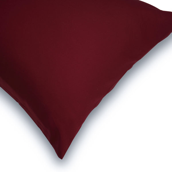 SOLID BEDDING SET - MAROON