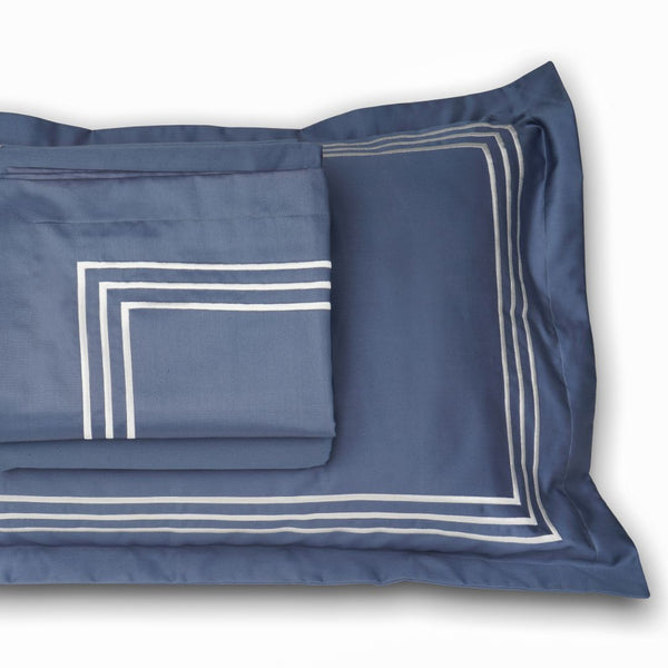 PARALLEL BEDDING SET - MOONLIGHT BLUE