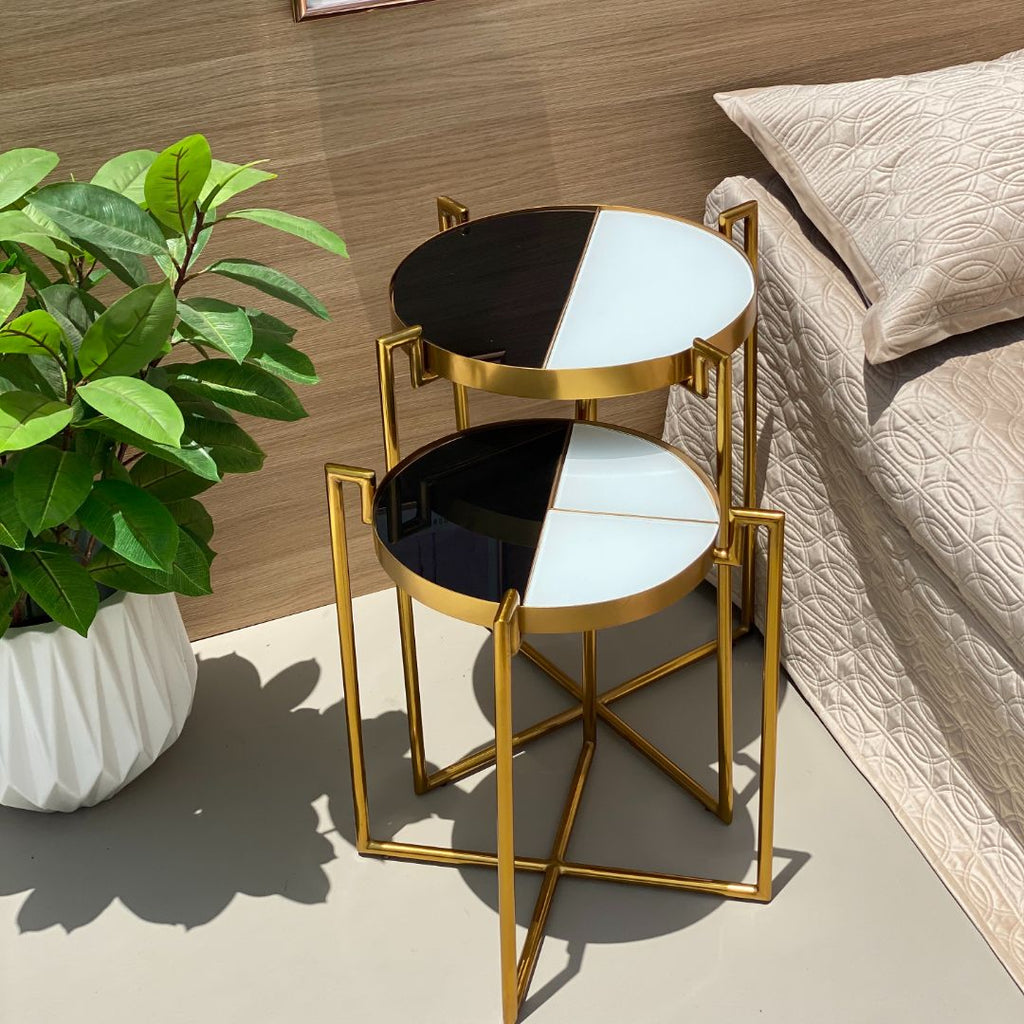 ECLIPSE DECO TABLE - GOLD - Mason Home by Amarsons - Lifestyle & Decor