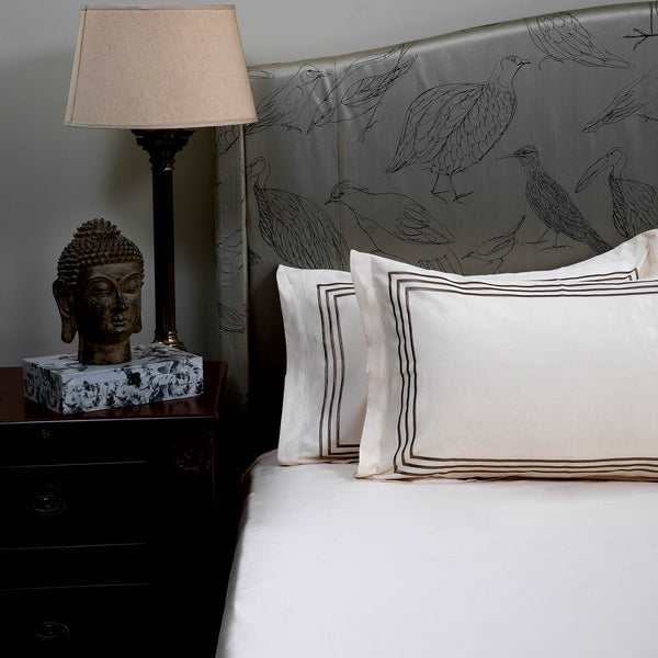 PARALLEL BEDDING SET - CREAM - Mason Home by Amarsons - Lifestyle & Decor