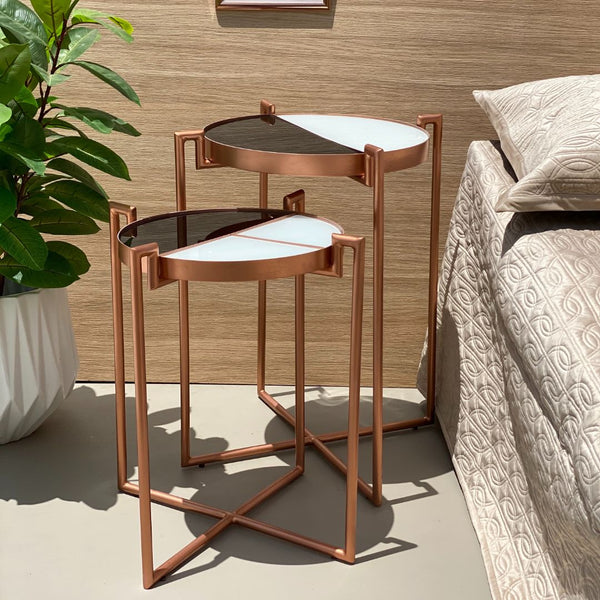 ECLIPSE DECO TABLE - ROSE GOLD - Mason Home by Amarsons - Lifestyle & Decor