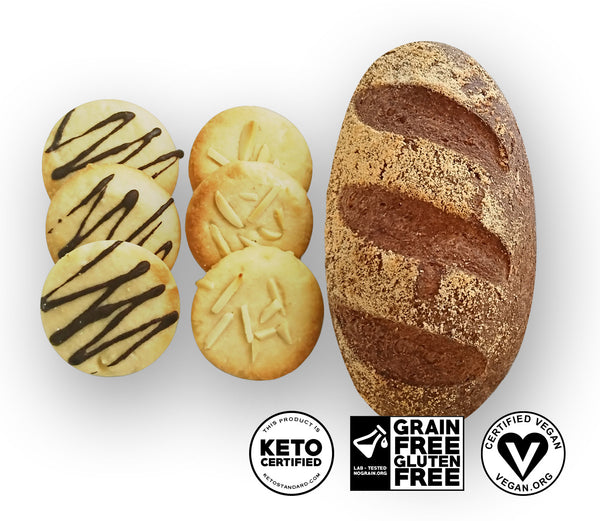Artisan Keto Bread & Cookies Sample Pack