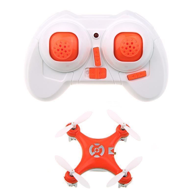 Cheerson CX-10 CX10 Mini 2.4G 4CH 6 Axis With LED Light RC Drone Quadcopter RTF