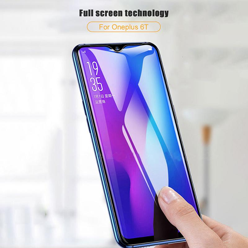 10D Curved Full Converage Screen Tempered Film for 1+6 1+6T