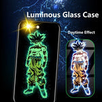 Dragon Ball Tempered Glass luminate Phone Case for iPhone6/6s 6/6s plus 7/8 7/8 Plus X XS XR XS Max Huawei P20 P20 Pro Nova 3i