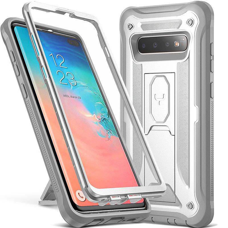 big sale 0945a a0b35 YOUMAKER FOR SAMSUNG S10 S10 Plus With Front Protection Full Body  Shockproof Slim Fit Phone Cover