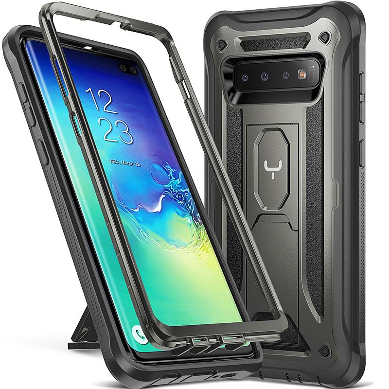 YOUMAKER FOR SAMSUNG S10 S10 Plus With Front Protection Full Body Shockproof Slim Fit Phone Cover
