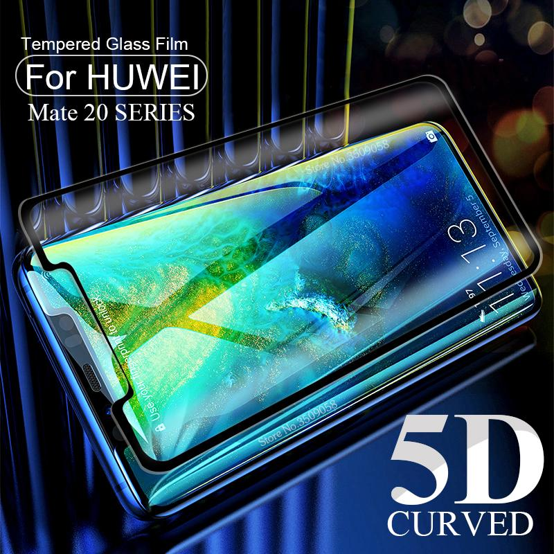 5D Curved Protective Glass For Huawei Mate 20 pro lite Case
