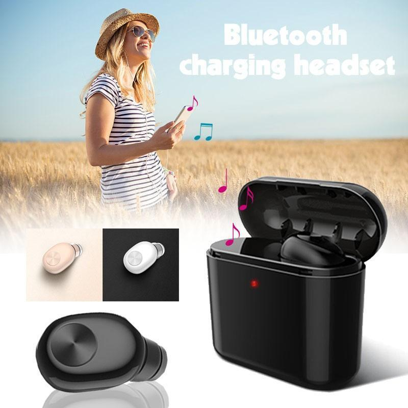 Mini Bluetooth Earbuds with Charging Box