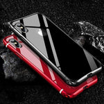Luxury Slim Metal Aluminum Alloy Shockproof Phone Case For iPhone X / XS / XR / XS Max