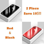 All-inclusive Anti-drop Plating Mirror Original Phone Case For iPhone X/XS/XR/XS MAX (2 Pieces)