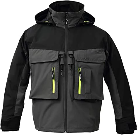 8Fans Breathable Lightweight 2 Layers Waterproof Rain Jacket