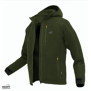Geoff Anderson Teddy Green Fleece Jacket