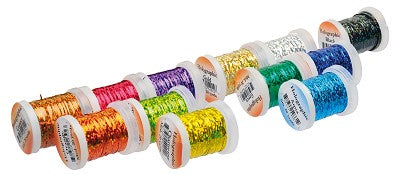 Veniard Holographic Tinsel Mixed Pack of 12