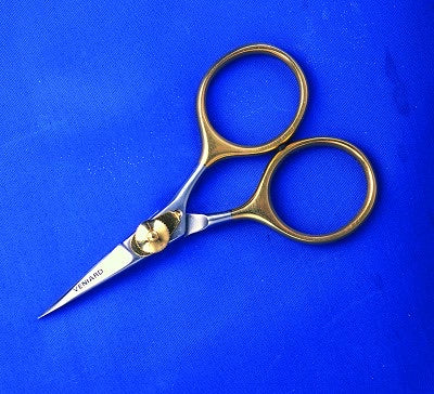 Gold loop Razor Scissors