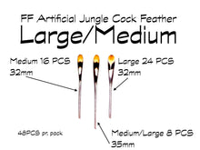Load image into Gallery viewer, FF Artificial Jungle Cock