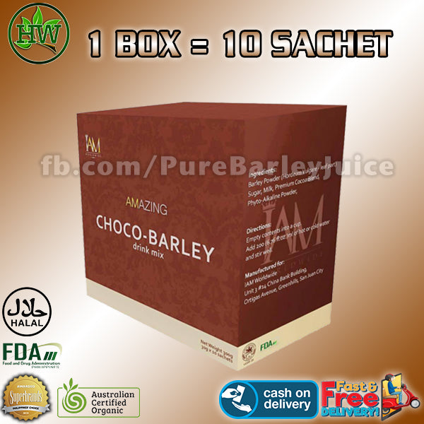 Amazing Choco Barley (Boost Energy for Kids)