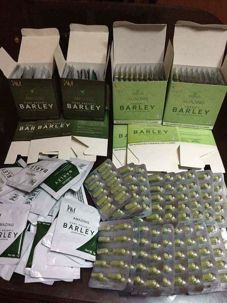 "1 Barley Capsule 1 Barley Pure Powder Juice ""FREE SHIPPING"""