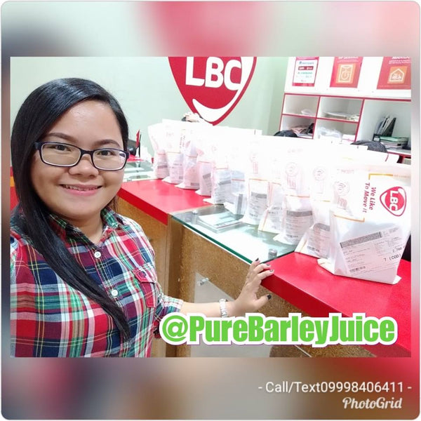 "1 Box Pure Barley Powder Juice (10 Sachet) ""Free Shipping"""