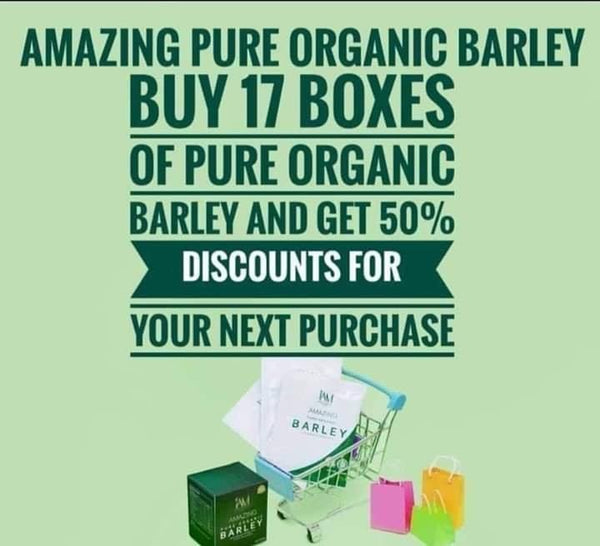 Amazing Pure Barley Distributor Packages!